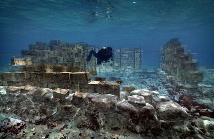 Pavlopetri, the sunken city