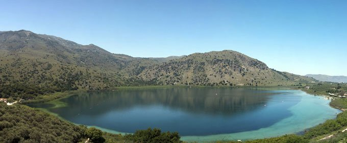 Lakes on Greek Islands! A unique experience!