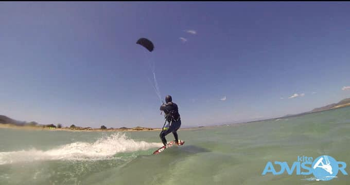 "Kite surfing in Elafonissos! ""It's all about where your mind's at""!!"