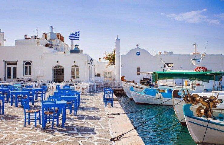 Paros Island, Naousa Greece