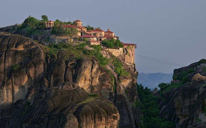 Мегало Метеорский монастырь Монастыри Метеоры Монастыри Метеоры, райское место! Megalo Meteoro Monastery 1