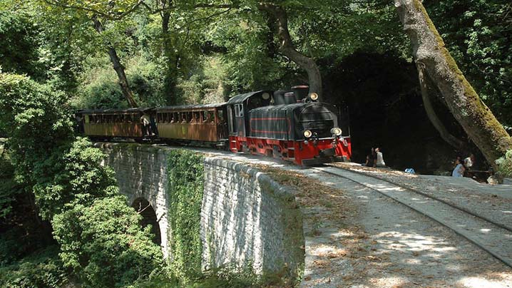 Pelion Greece Train