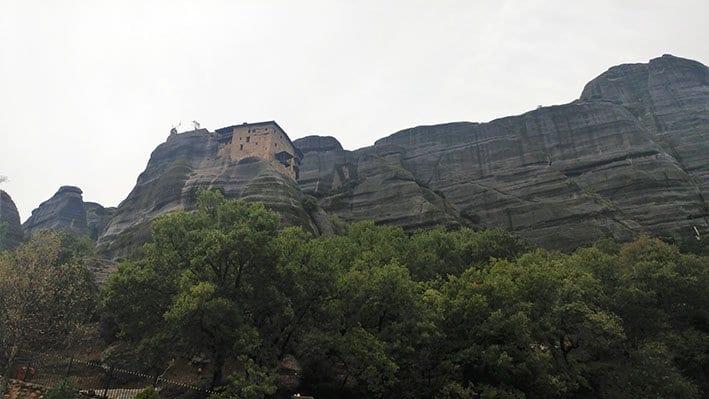 Русанский монастырь Метеоры Монастыри Метеоры Монастыри Метеоры, райское место! Roussanou Monastery2