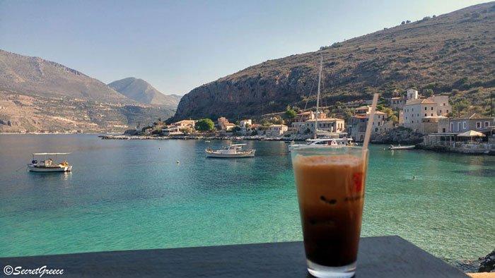 Road trip in limeni, Peloponnese