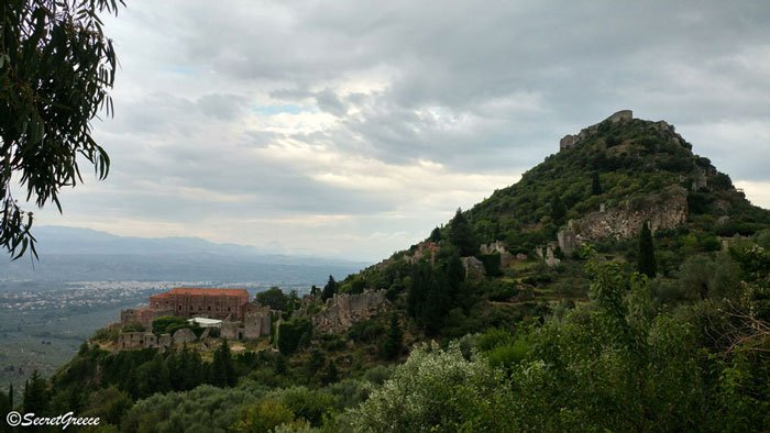 Road trip in Mystras castle, Peloponnese