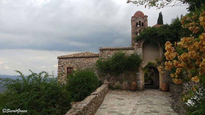Road trip in Mystras castle, Peloponnese