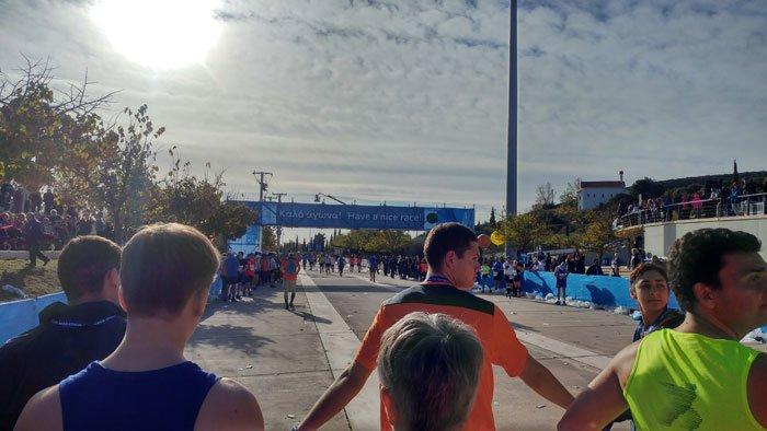First marathon in Athens