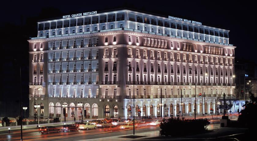 Grande Bretagne, bets luxurious hotels in athens