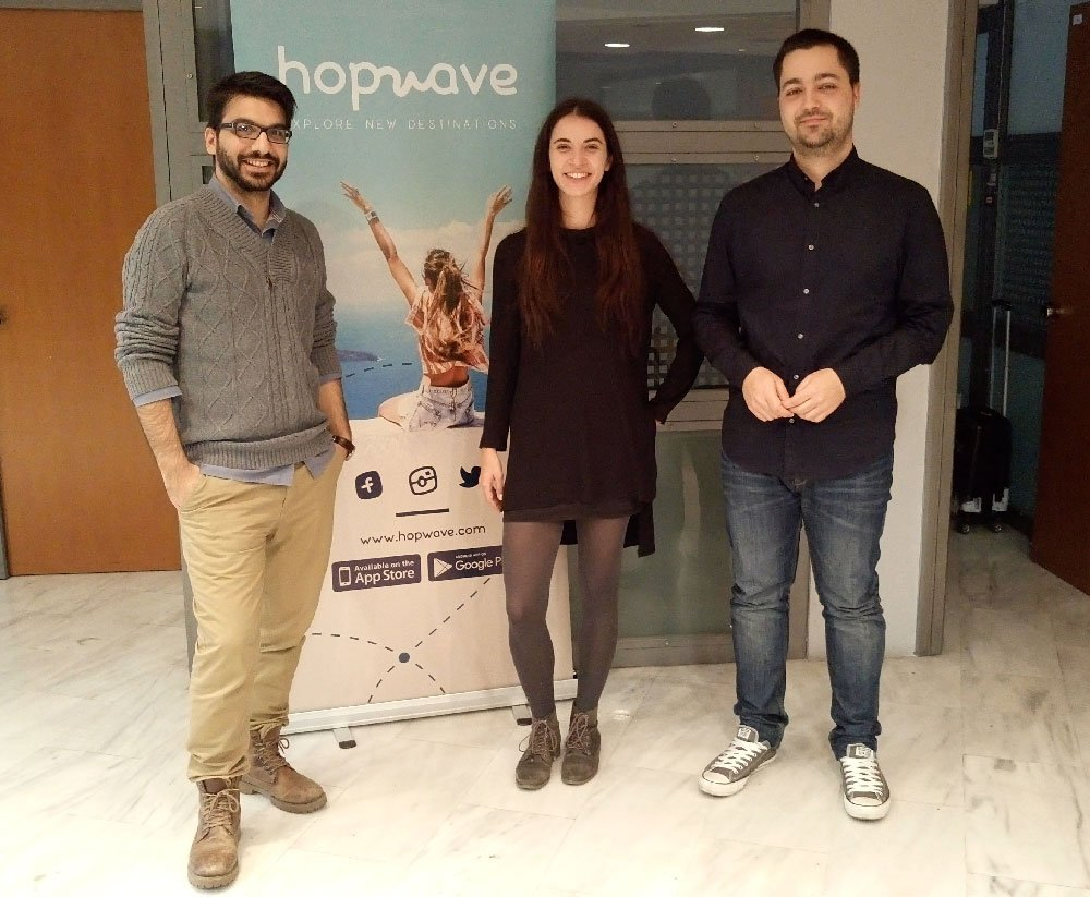 Greek Travel Startup hopwave