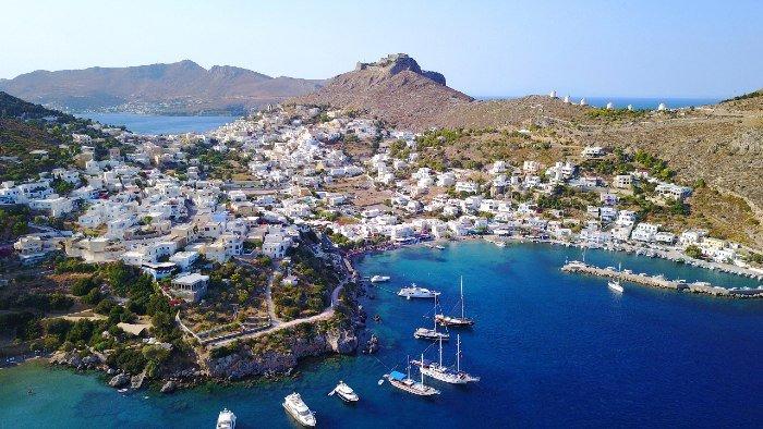 Agia Marina in Leros island