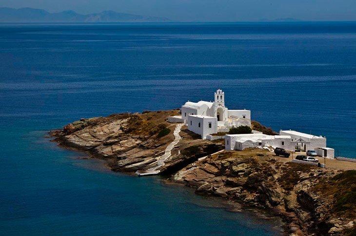 Chrysopigi Wedding in Greece