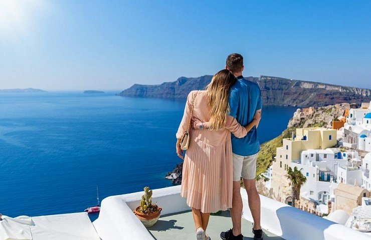 Romantic Honeymoon in Greece