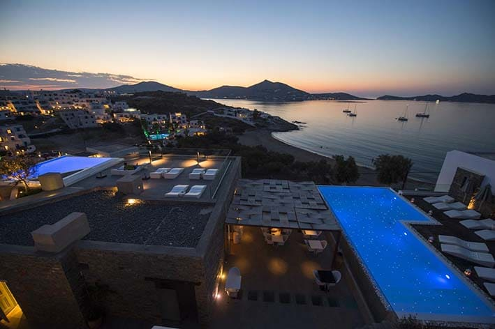 Senia Best Hotels in Paros island
