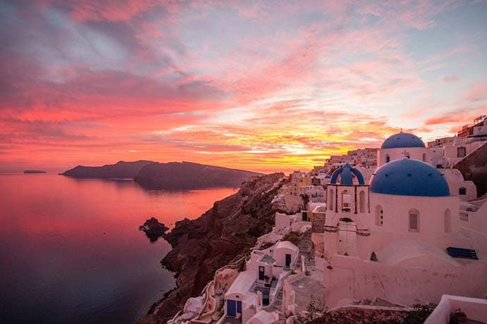 best things to do in santorini_sunset