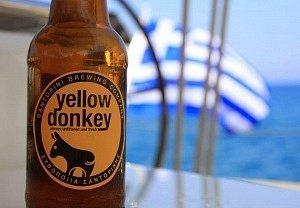 пиво Санторини Санторини Санторини donkey beer santorini 300x208