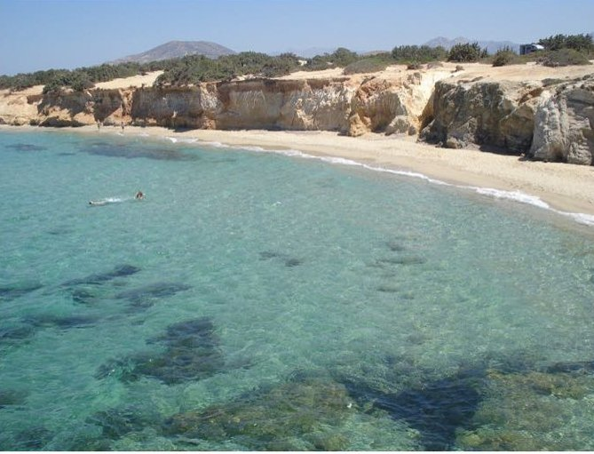 Alyko Beach, Naxos Island