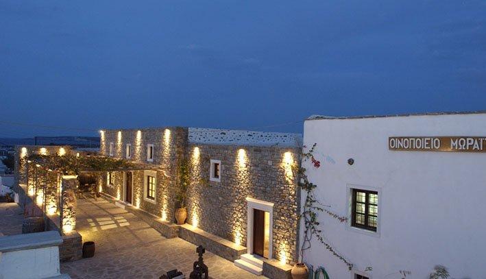 Moraitis winery Paros island