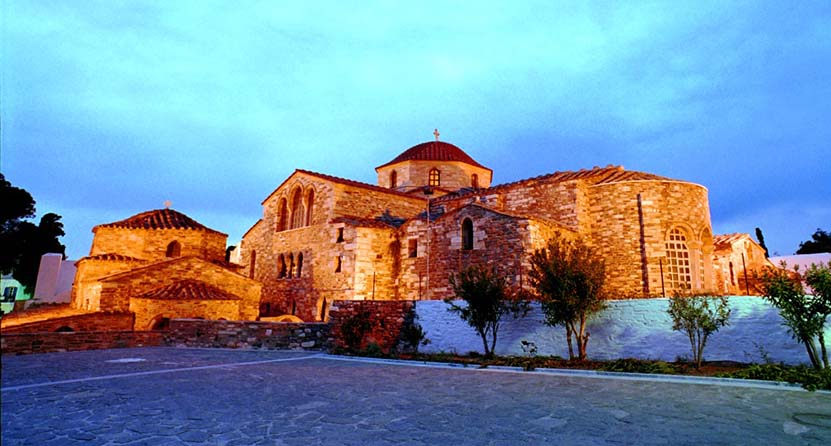 Panagia Ekatontapiliani Church Parikia