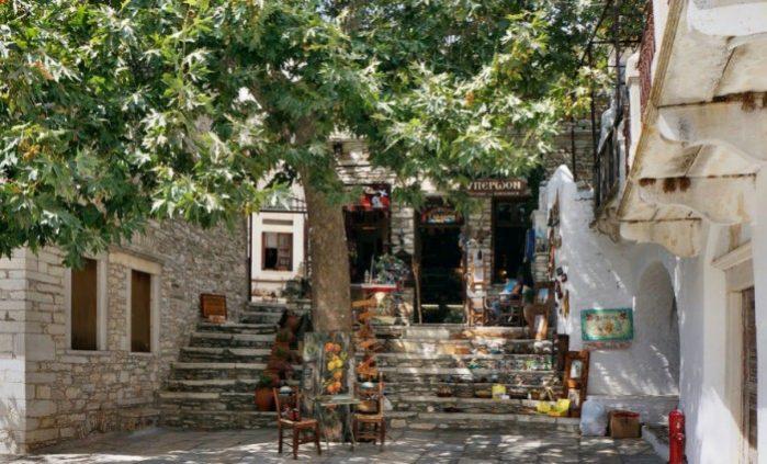 Apeiranthos Naxos island