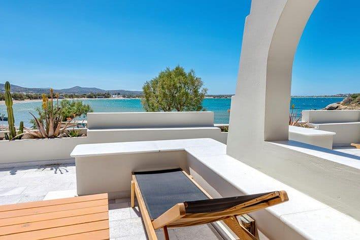 Nissaki Bach hotel Naxos Island