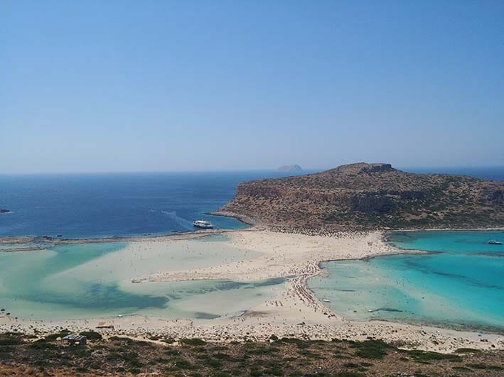 Mpalos beach Crete