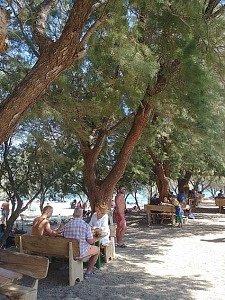 пляжный бар Gialiskari ханья на крите 8-дневный маршрут в регионе Ханья, на Крите! gialiskari beach bar2 225x300