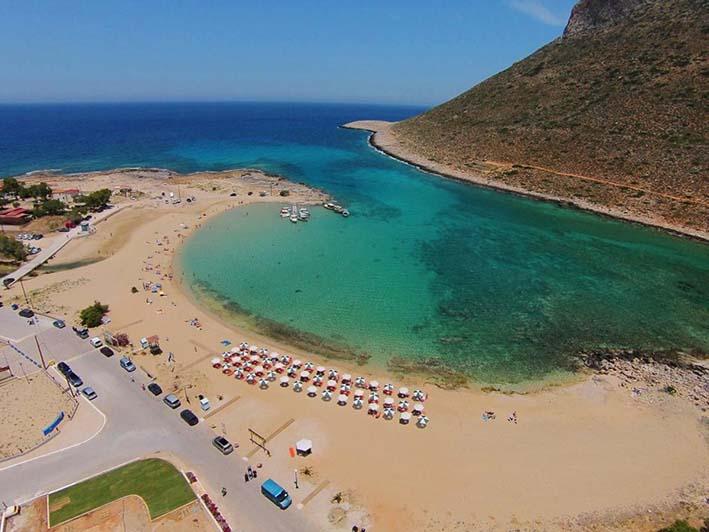 Пляж Ставрос ханья на крите 8-дневный маршрут в регионе Ханья, на Крите! Stavros beach