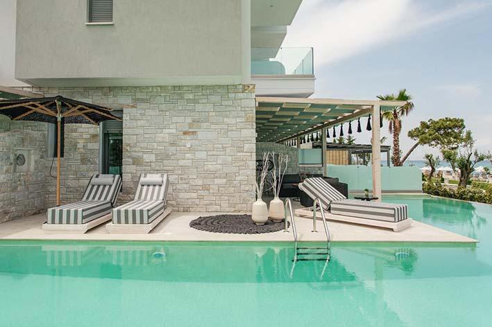 Blue Carpet Luxury Suites best hotels in Kassandra Halkidiki