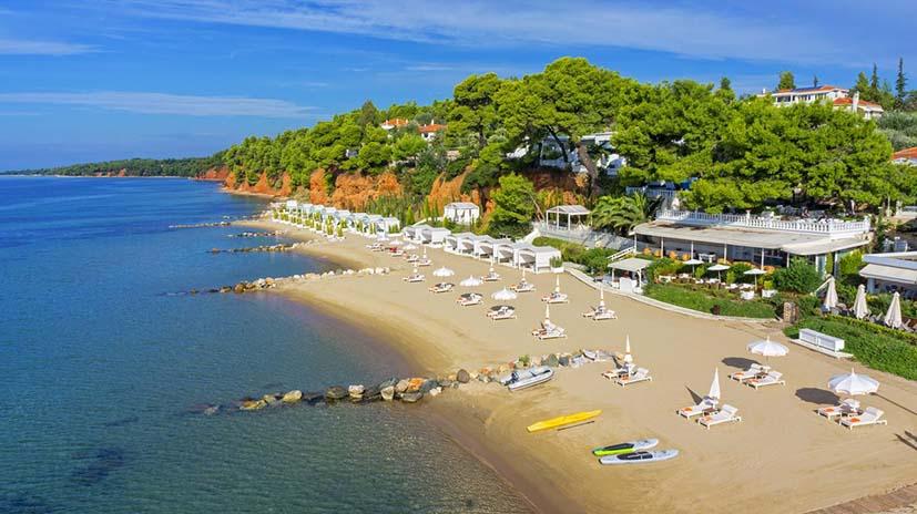 Danai Beach Resort Villas best hotels Halkidiki