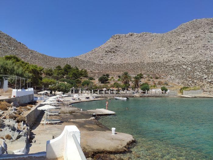 Agia Marina beach Symi dodecanese
