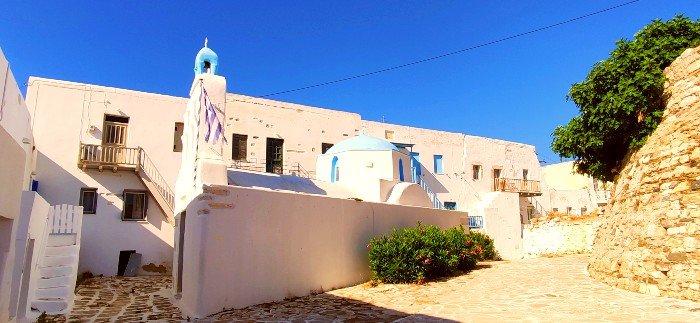 Antiparos island castle