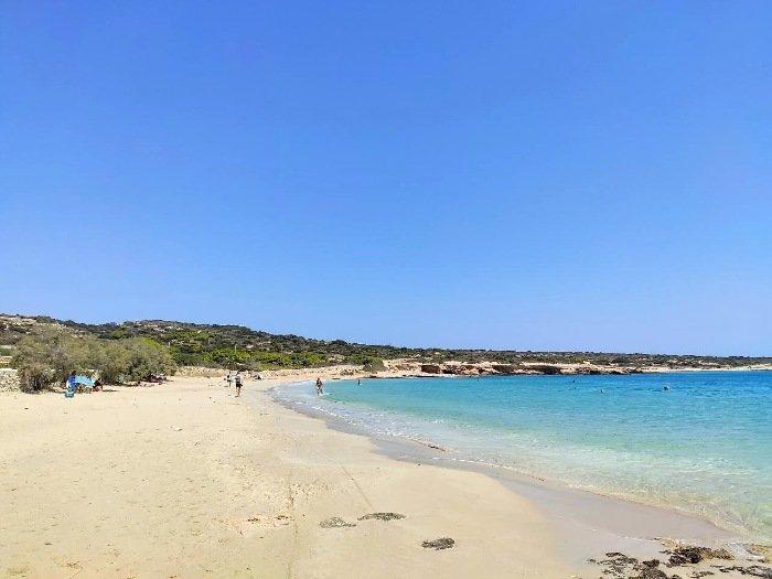 Fanos beach Koufonisi island