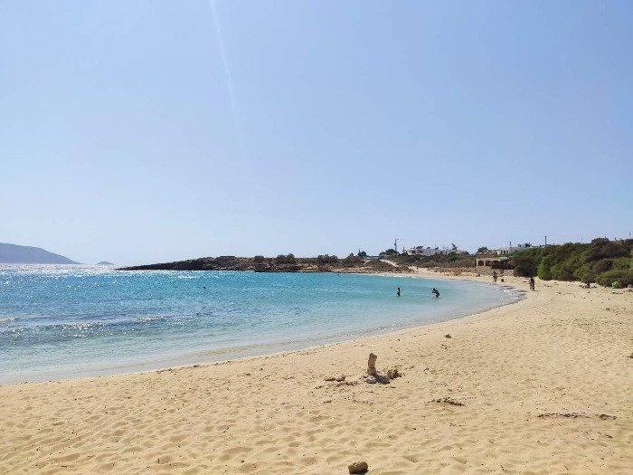 Finikas beach Koufonisia islands
