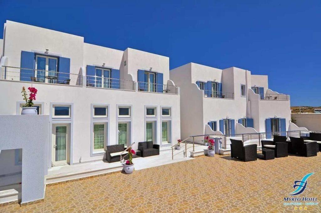 Myrto Hotel Koufonissi greek island