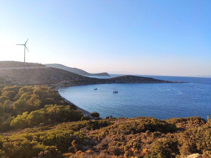Plaka beach Tilos island