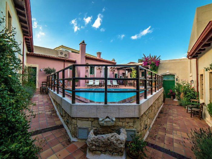Villa Archanes where to stay Heraklion Crete