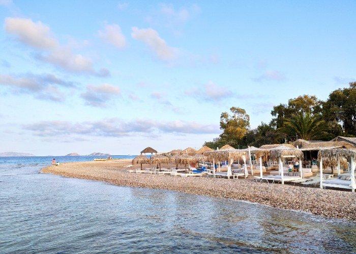 Kaiki beach Spetses island