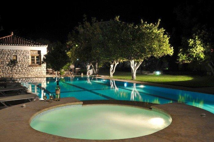 Villa Martha hotel Spetses island greece