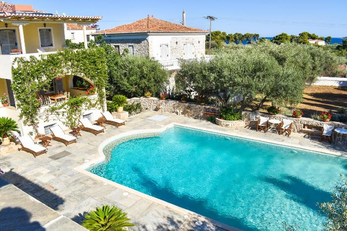 Villa Nika Spetses Island greece