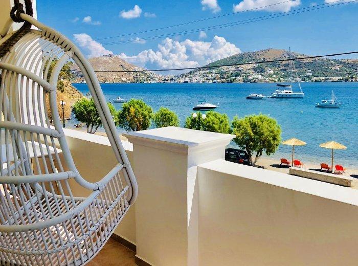 Alidian bay Suites best hotels in Leros island