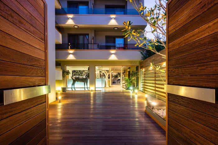 Bourtzi Hotel where to stay in Skiathos island