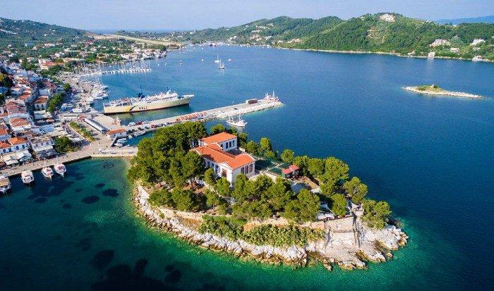 Bourtzi Skiathos island things to do