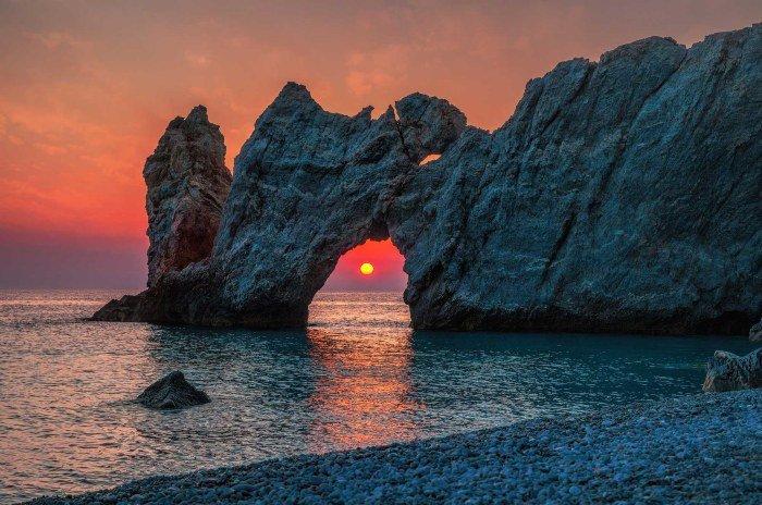 Lalaria beach Skiathos island