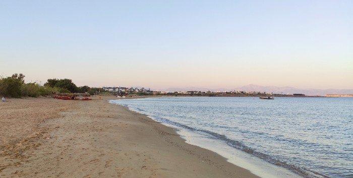 Chryssi Akti best beaches on Paros island
