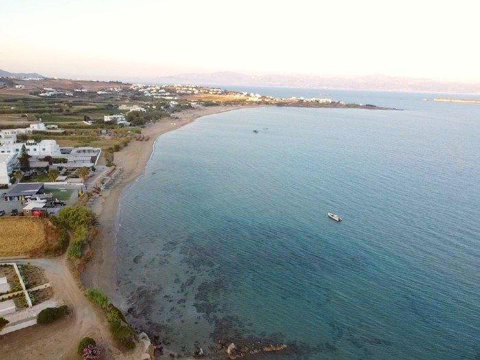Chryssi Akti best beaches on Paros