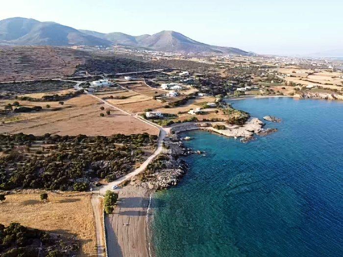 Glifa and Tripiti beach Paros island