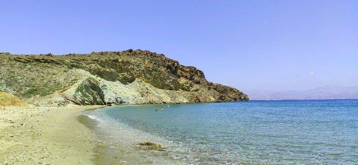 Kalogeros beach Paros greek island