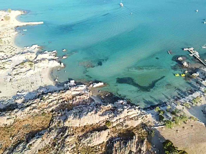 Kolympithres beach Paros cyclades