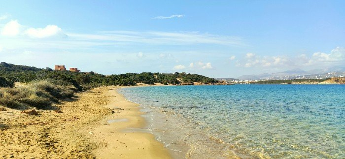 Laggeri best beaches on paros island
