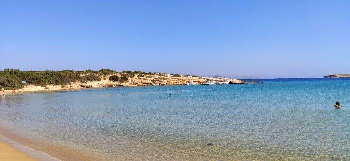 Mikri Santa best beaches on Paros